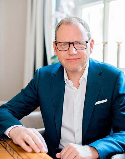 Portrait Alexander Jecht, Director of Tavina Management Corporation